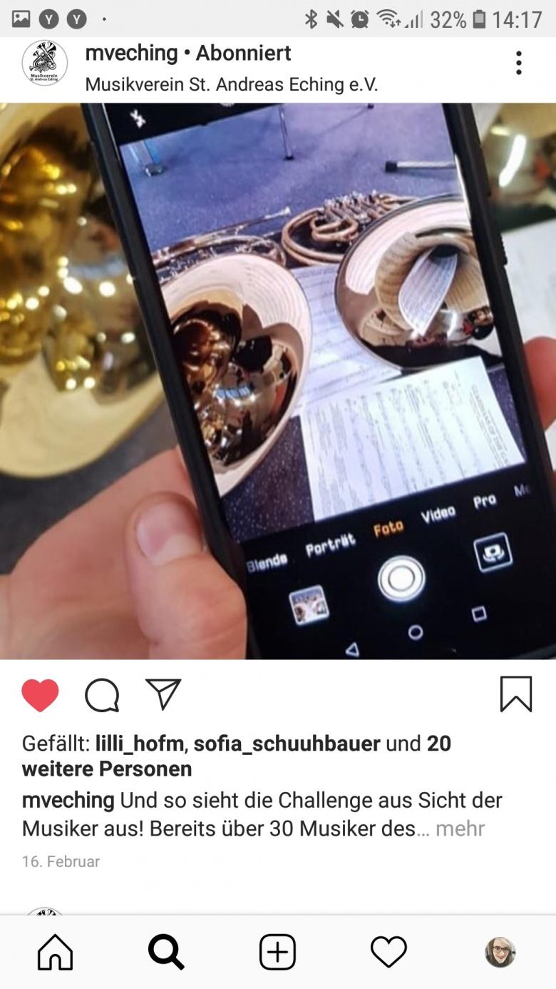 Der MV im Social Media Fieber – Die Dirigentenchallenge